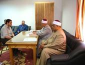 وكيل الأزهر يتابع امتحانات مسابقة حفظ وتجويد القرآن الكريم بالمشيخة