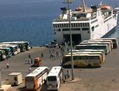 وصول وسفر 4868 راكبًا بينهم 2398 معتمرًا لموانئ البحر الأحمر
