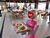 افتتاح مطعم جديد فى نيبال يوظف روبوتات بدلا من البشر لتقديم الطعام للزبائن