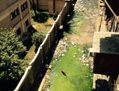 أهالى مساكن الأميرية يستغيثون من مياه الصرف الصحى