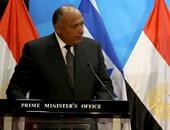 سامح شكرى: مصر حريصة على إنهاء الصراع الإسرائيلى الفلسطينى