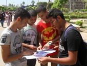 طلاب الثانوية دور ثان يبدأون امتحان الجيولوجيا والفلسفة والاستاتيكا