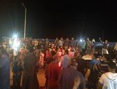 المئات بالبقلية فى الدقهلية ينتظرون عودة أبناء قريتهم المختطفين بليبيا