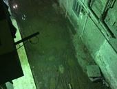 أهالى شارع المطرى بالبساتين يشكون من طفح مياه المجارى