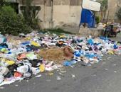 صحافة المواطن.. تفاقم أزمة تراكم القمامة بمنطقة مصطفى كامل فى الإسكندرية