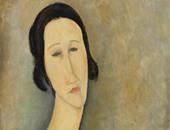 """لوحة زوجة الفنان """"موديليانى"""" تباع بـ12 مليون دولار فى """"كريستى"""""""