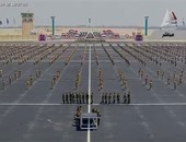 بالفيديو.. السيسى يأمر ببدء طابور العرض العسكرى للدفعة 153 من معهد ضباط الصف