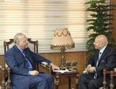 وزير العدل يلتقى وفدا من النيابة الإدارية يتقدمه رئيس الهيئة الجديد