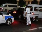 فحص 12 سيارة مجهولة والقبض على 6 سائقين فى حالة سكر بالمنوفية