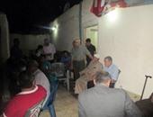 رموز العريش يحتفلون بذكرى ثورة يونيو خلال إفطار جماعى بحزب الوفد