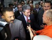 وزراء الطيران والتضامن والاتصالات يعودون القاهرة بعد المشاركة بمؤتمر الشباب