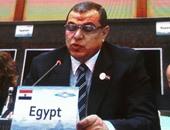وزير القوى العاملة  يكرم 7 محالين للمعاش بالوزارة