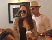 بالصور.. براد بيت وأنجلينا جولى يحتفلان بعيد ميلاد توأمهما فى هوليوود