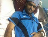بالصور.. شاب من ذوى الاحتياجات الخاصة بالشرقية يناشد المسئولين بعلاجه من الشلل