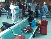 بالصور.. إقلاع طائرة مصر للطيران القادمة من الصين بعد تأخر 7 ساعات