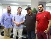 """بالصور..المغرد الإماراتى إبراهيم بهزاد سفير السياحة المصرية يزور """"اليوم السابع"""""""