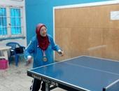 """أكبر لاعبة تنس طاولة : نفسى أقابل السيسى عشان أشكى له """"همومنا"""""""