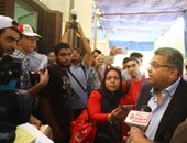 وزير التعليم العالى يستمع لشكاوى الطلاب بمكتب التنسيق