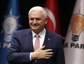 رئيس الوزراء التركى يصل أربيل قادما من بغداد فى زيارة لإقليم كردستان العراق