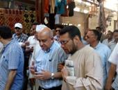 بالصور.. وزير السياحة يتفقد السوق السياحى بالأقصر