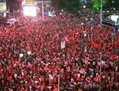 أردوغان يطالب ملايين الأتراك المشاركة فى مظاهرة جديدة اليوم ضد تحركات الجيش