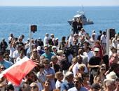 فرنسا تقف دقيقة صمت حدادا على ضحايا هجوم نيس الإرهابى