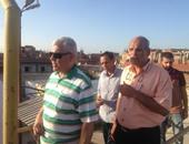بالصور.. رئيس شركة مياه القناة يتفقد محطة مياه أبو خليفة بالإسماعيلية