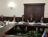 شريف فتحى يلتقى وزير النقل الروسى لبحث استئناف حركة الطيران بين البلدين