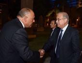 رئيس الوزراء يلتقى سامح شكرى وزير الخارجية