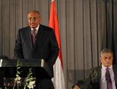 وزير الخارجية يصل القاهرة قادمًا من باريس
