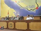 بالصور.. محافظ جنوب سيناء يترأس اجتماع المجلس التنفيذى ويكرم مراكز الشباب