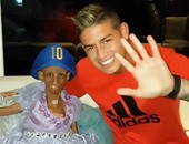 رودريجيز يحقق حلم مراهقة كولومبية تعانى من مرض نادر