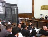"""بالصور.. بدء جلسة إعادة محاكمة """"بديع"""" و12 آخرين بقضية """"أحداث مكتب الإرشاد"""""""