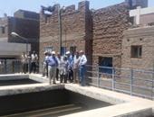 محافظ قنا يتفقد محطة مياه شرب ووحدة صحية بمركز نقادة