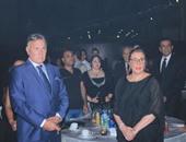 الفيشاوى وفردوس عبد الحميد وأحمد فؤاد سليم يصلون مهرجان النخبة للاعلام العربي