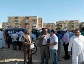 رئيس شركة مياه القناة يتابع نقص المياه بمنطقة السلام بقطاع السويس