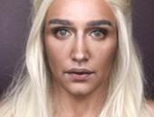 """بالصور.. خبير تجميل يتحول إلى شخصيات مسلسل """"Game of Thrones"""""""