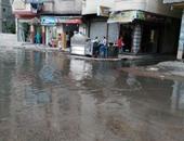 غرق شارع ترسا بمياه الصرف.. والأهالى: الطفح يستمر بالأيام
