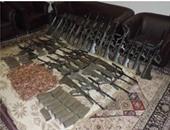 ضبط أخصائى أمن يدير ورشة لتصنيع الأسلحة بالمنيا