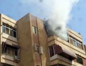 النيابة تنتدب المعمل الجنائى لمعاينة حريق شقة النهضة بالسلام