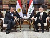 الخارجية: سامح شكرى هنأ الشعب العراقى بانتصاراته فى الفلوجة على داعش