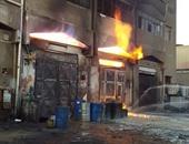 الحماية المدنية تسيطر على حريق فى معرض لبيع المنتجات السورية بالمنصورة