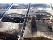 10 سيارات إطفاء تسيطر على حريق مصنع زيوت أكتوبر