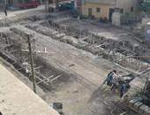 بالصور.. أهالى قرية فى القليوبية يطالبون التدخل لمنع بناء مصنع داخل الكتلة السكنية