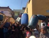 استمرار انقطاع مياه الشرب فى منطقة الطوابق بفيصل