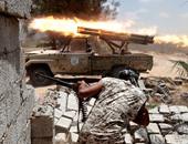 اندلاع القتال بين الجيش الليبى واليليشيات المسلحة فى العاصمة طرابلس