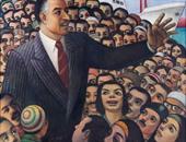 بالصور..الفلاحون والعمال أبطال لوحات فنانى ثورة يوليو