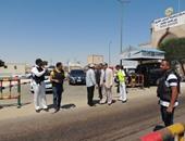 بالصور.. مدير أمن مطروح يشرف على حملة مرورية وضبط 489 مخالفة