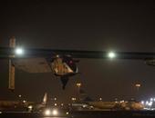 """إقلاع الطائرة """"سولار إمبالس 2"""" من مطار القاهرة إلى الإمارات"""