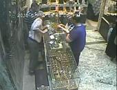 سرقة محل مجوهرات بكوم حماده من قبل 3 أشخاص